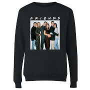 Friends Group Shot Damen Pullover - Schwarz