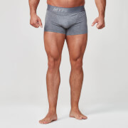 Men's 2 Pack Mid Boxers - Charcoal