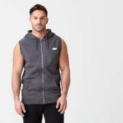 Tru-Fit Sleeveless Hoodie - Charcoal
