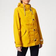 Joules Women's Coast Waterproof Jacket - Antique Gold