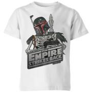 Star Wars Classic Boba Fett Skeleton Kinder T-Shirt - Weiß