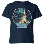Star Wars Vintage Victory Kids' T-Shirt - Navy