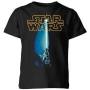 T-Shirt Enfant Sabre Laser Star Wars Classic - Noir