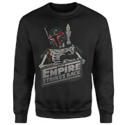 Star Wars Boba Fett Skeleton Sweatshirt - Black