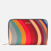 Paul Smith Women's Swirl Medium Zip Round Purse - Multi