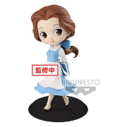 Banpresto Q Posket Disney Beauty and the Beast Belle Country Style Figure 14cm (Pastel Colour Version)