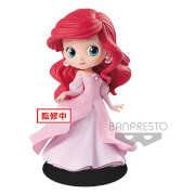 Banpresto Q Posket Disney The Little Mermaid Ariel Princess Figure 14cm (Pink Dress)