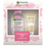 Garnier Cleanse and Glow Beauty Duo Christmas Gift