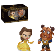 Lot de 2 Figurines Mystery Mini La Belle et La Bête - Disney