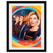Doctor Who (Painting) 16 x 12 Framed Collector Print