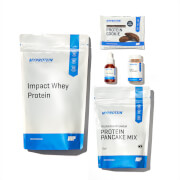 Myprotein App Weight Loss Bundle - Double Chocolate - White Chocolate - Salted Caramel