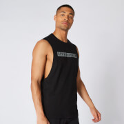 The Original Drop Armhole Tank -schwarz