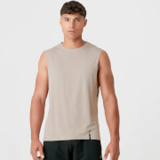 Luxe Classic Drop Armhole Tank Top - Taupe