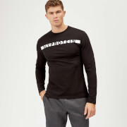 Myprotein The Original Long Sleeve T-Shirt - Black