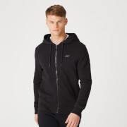 Tru-Fit Zip Up Hoodie 2.0 - Black