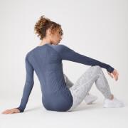 Shape Seamless Long-Sleeve Top – Dunkles Indigo Blau
