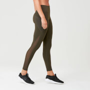 Leggings Power Mesh - Cachi scuro