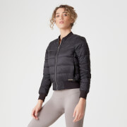 Myprotein Reversible Bomber Jacket - Black