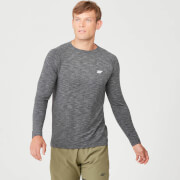 Performance Long-Sleeve T-Shirt - Charcoal Marl