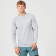 Myprotein Performance Long Sleeve T-Shirt - Grey Marl