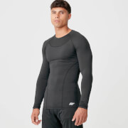 Charge Compression Long Sleeve Top - Black