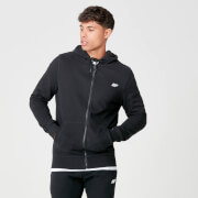 Tru-Fit Full Zip Hoodie - Black
