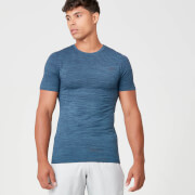 Sculpt Seamless T-Shirt - Petrol Blue