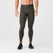 Myprotein Charge Compression Tights - Dark Khaki