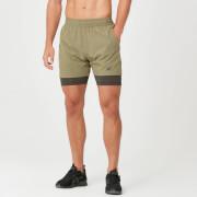 Power Shorts - Light Olive