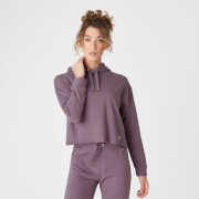 Luxe Lounge Hoodie - Mauve