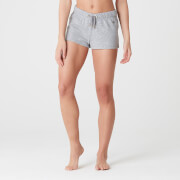 Myprotein Luxe Lounge Shorts - Grey Marl