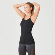 Shape Seamless Vest - Black