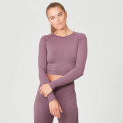 Myprotein Shape Seamless Crop Top - Mauve
