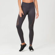 Myprotein Shape Seamless Leggings - Slate Grey