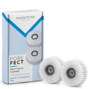 Magnitone London Barefaced 2 Porefect Daily Cleansing Brush Head - 2 Pack