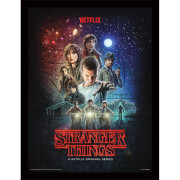 Strangers Things (One Sheet) Framed 30 x 40cm Print