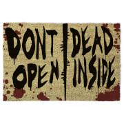 The Walking Dead (Don't Open Dead Inside) Doormat