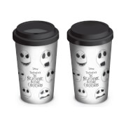 Nightmare Before Christmas (Faces of Jack) Travel Mug