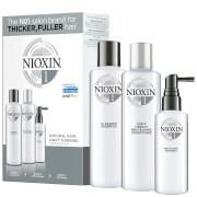 NIOXIN 3-Part System Trial Kit 1 for Natural Hair with Light Thinning
