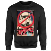 Star Wars Rebels Poster Pullover - Schwarz
