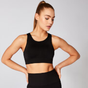 Myprotein Shape Seamless Ultra Sports Bra – Black