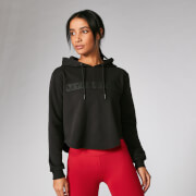 The Original Cropped Hoodie - Black