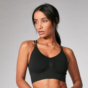 Myprotein Shape Seamless Sports Bra - Black