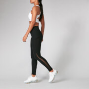 Power Mesh Leggings - Black