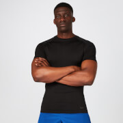 MP Elite Seamless T-Shirt - Black - XS