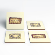 Bourbons And Custard Creams Coasters (Pack of 4)