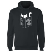 Mind Control For Cats Hoodie - Black