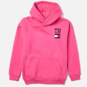 Tommy Hilfiger Girls' Collegic Stamp Hoody - Pink Flambe