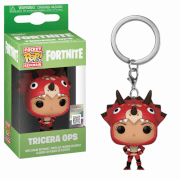 Fortnite Tricera Ops Pop! Keychain
