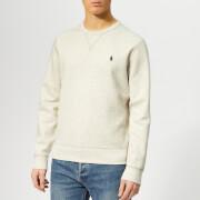 Polo Ralph Lauren Men's Long Sleeve Polo Shirt - Heather Polo Black - XXL - Grey
